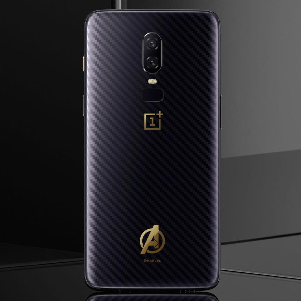 check out e9e81 468cb Original Avengers Ultra Thin Full Protection Glass Case for OnePlus 6