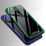 Aurora Tempered Glass Neon Glowing Case For Oppo F11 Pro
