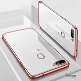 Luxury High-end Fashion Transparent Case For Oppo F9 Pro