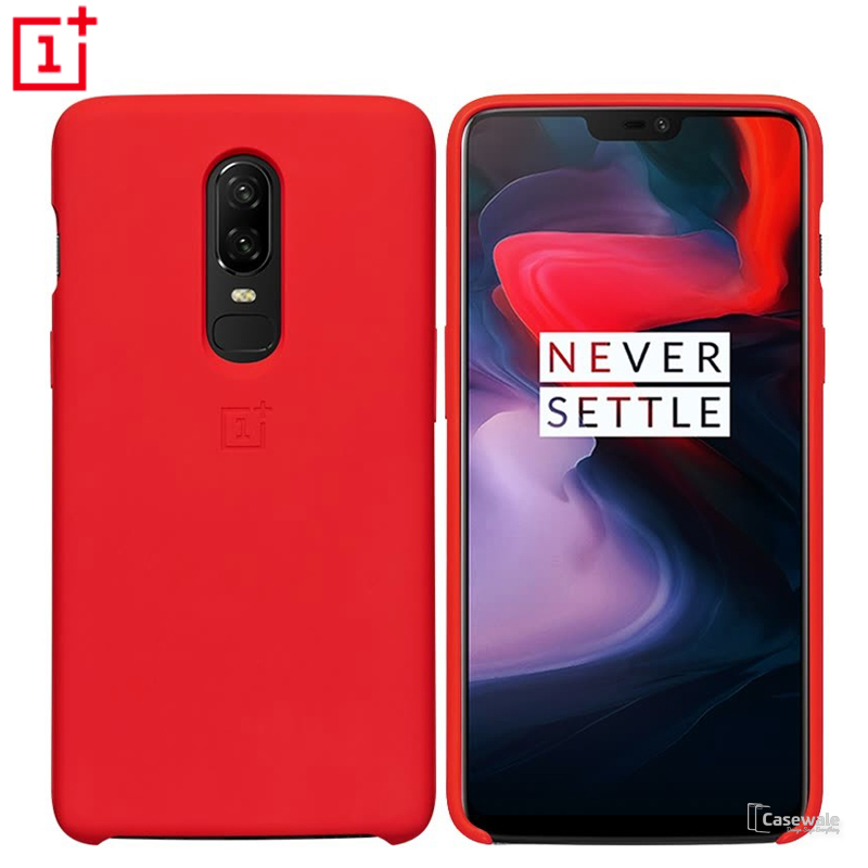 save off 1087f 5f7b1 Original Slim Silicone Protective Case for OnePlus 6