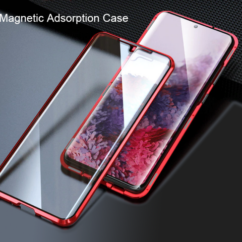 Double Sided Magnetic Glass Case for Galaxy Note 20 / 20 Ultra