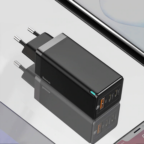 Baseus 65W GaN Type C PD USB Fast Charger