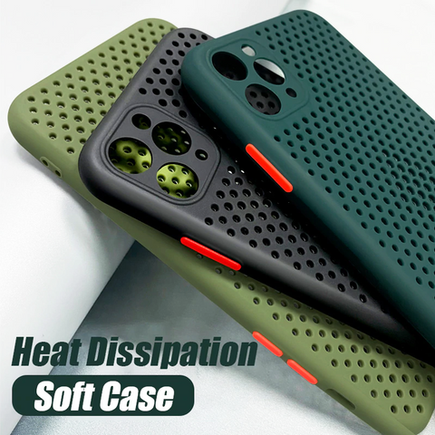 Heat Dissipation Breathable Cooling Case for iPhone 11 Series