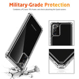 Luxury Transparent Airbag Bumper Case for Galaxy Note 20 / 20 Ultra