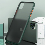 Anti-knock Armor Transparent Matte Hard Case for iPhone 11 Series