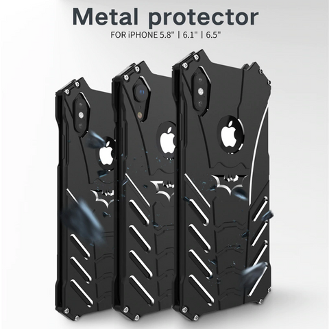 Batman Luxury Metal Aluminum Armor Case for iPhone