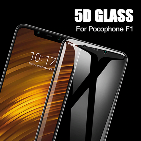 9H Tempered Glass Screen Protector For Mi Poco F1