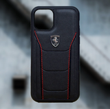 Ferrari ® Genuine Leather Crafted Limited Edition Case for iPhone 11 Series