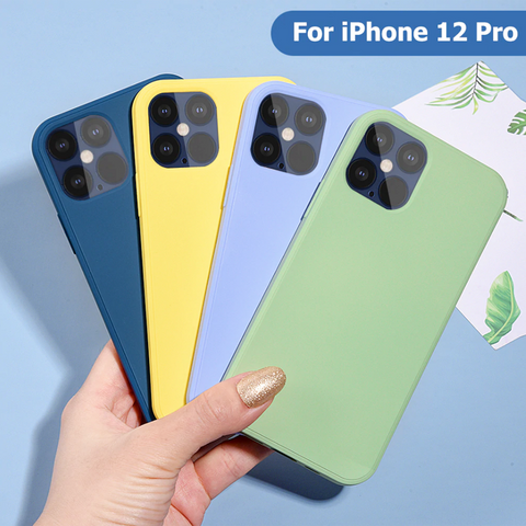 Luxury Liquid Silicone Protective Case for iPhone 12 Series