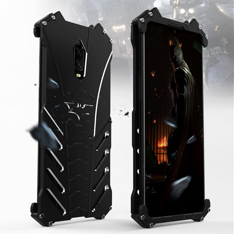 Batman Luxury Metal Aluminum Armor Case for OnePlus 6, 6T