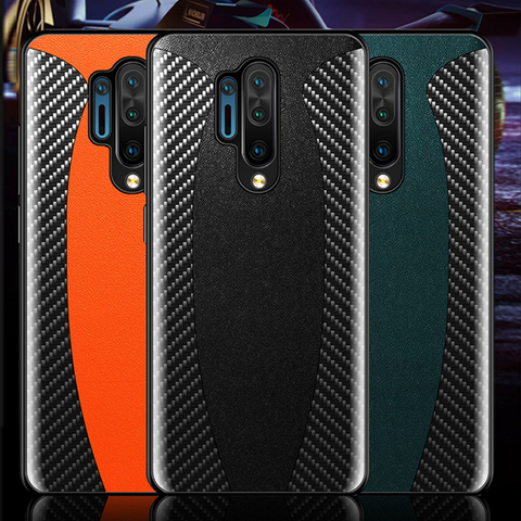 Original Carbon Fiber Leather Shockproof Case for OnePlus 8 / 8 Pro