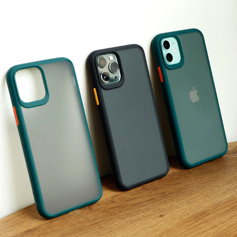 Protective Hybrid Silicone Case for iPhone 11 Series