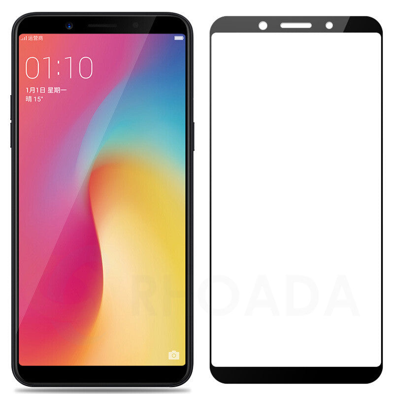 5D Curved Glass Screen Protector for Oppo Realme 1