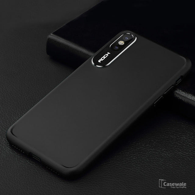 Slim TPU Anti-knock Painting Phone Case for Apple iPhone X
