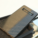 Real Carbon Fiber Phone Case for Samsung Galaxy S10/ S10 Plus