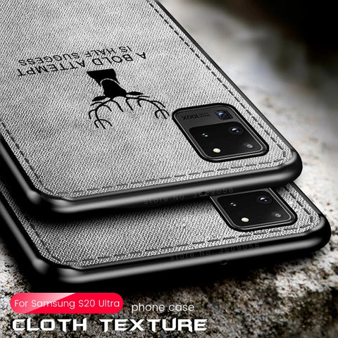 Deer Pattern Inspirational Soft Case for Galaxy S20 Ultra