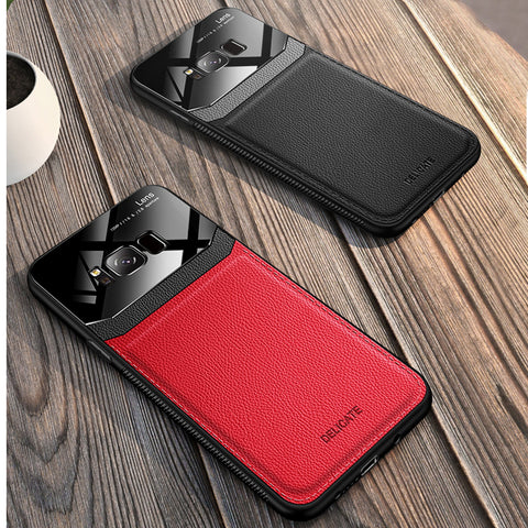 Leather Lens Luxury Card Holder Case For Galaxy S8/ S8 Plus
