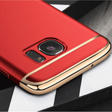 Galaxy S7 Edge Luxury Metal Electroplating Case