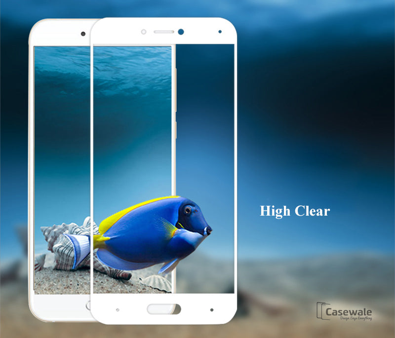 buy popular 3f0be f9821 Full Cover Screen Protector Tempered Glass for Redmi Note 4