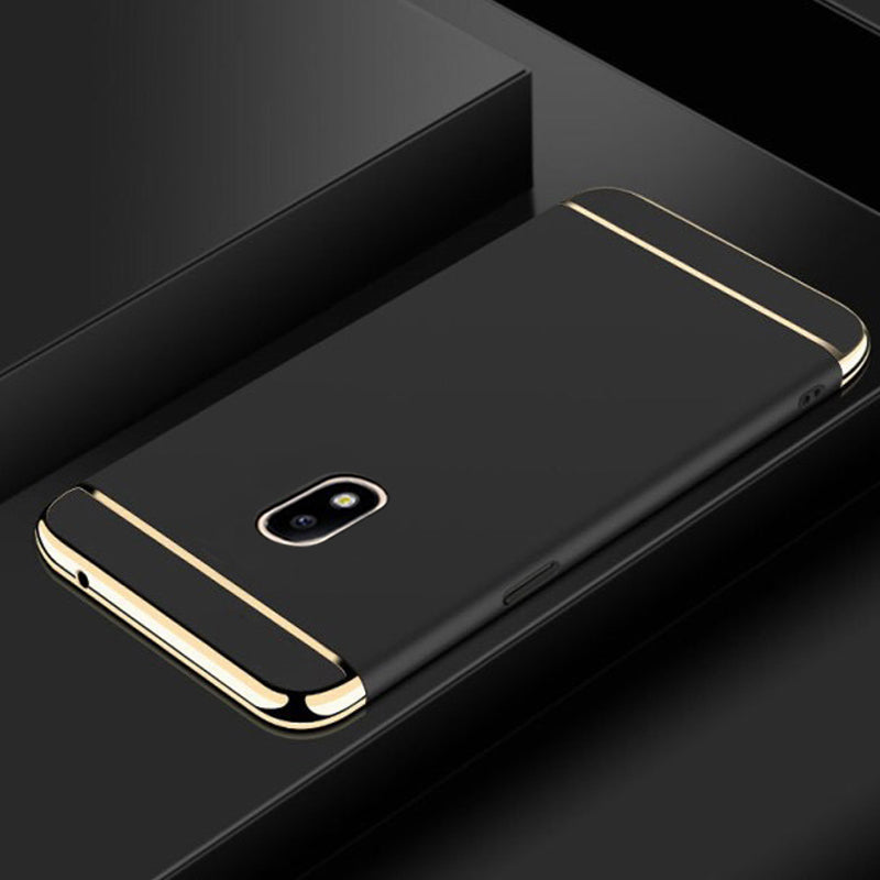 Luxury Electroplating 3 in 1 Phone Case for Galaxy J7 Pro