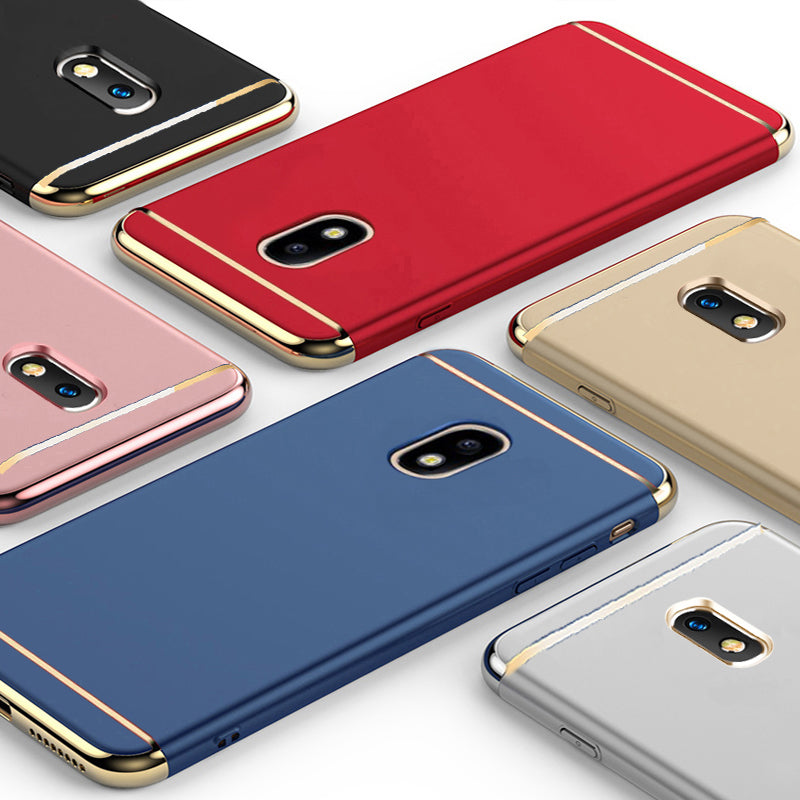 online store a1480 61ce5 Luxury Electroplating 3 in 1 Phone Case for Galaxy J7 Pro