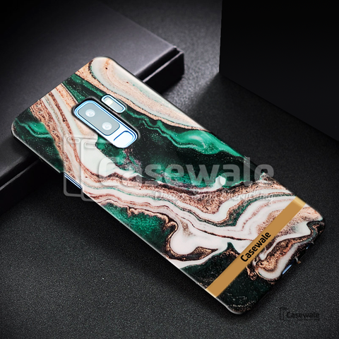 Glossy Agate Luxury Marble Case for Galaxy S9 / S9 Plus