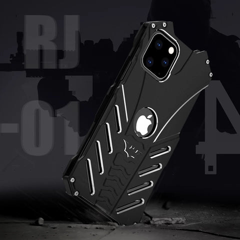 Luxury Batman Metal Aluminum Armor Case for iPhone 11 Series
