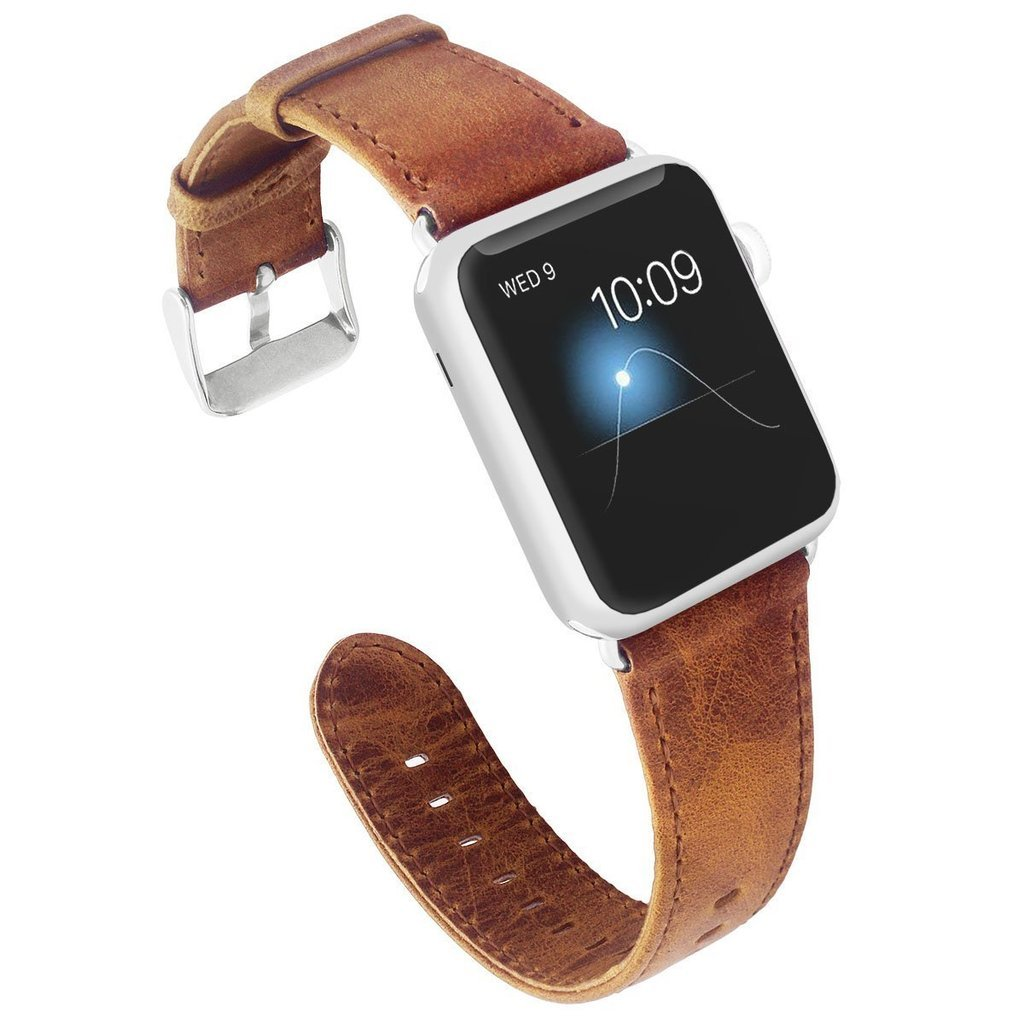 Apple Watch Genuine Leather Wrist Band 42mm