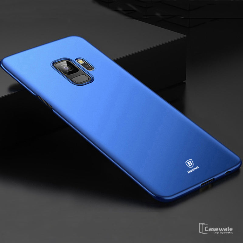 huge selection of f0f8b 24b27 Baseus Luxury Ultra Thin Smooth Matte PP Case for Galaxy S9 / S9 Plus