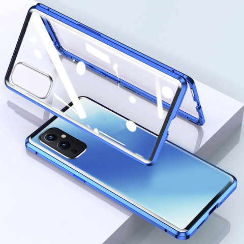 Double Sided Magnetic Glass Case for OnePlus 9 / 9 Pro