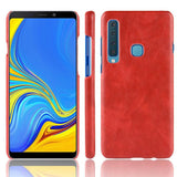 Luxury Leather Finish Full Protection Case for Galaxy A9 2018