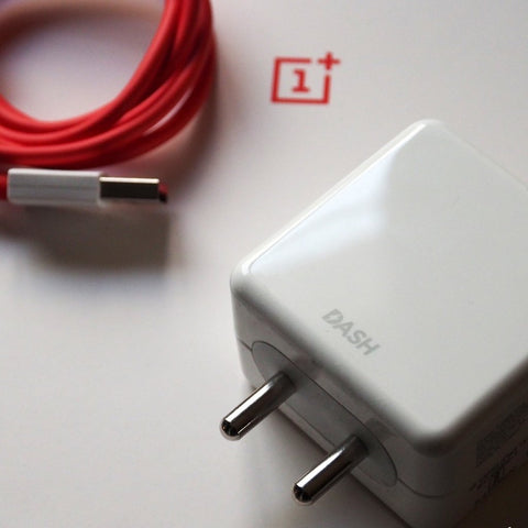 OnePlus Original Dash Power Adapter & Type-C USB Phone Cable
