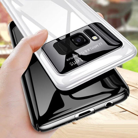 b9f201d22295 Luxury Smooth Ultra Thin Mirror Effect Case for Galaxy S8/ S8 Plus