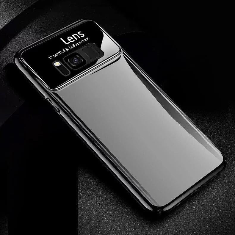 more photos df59d 62161 Luxury Smooth Ultra Thin Mirror Effect Case for Galaxy S8/ S8 Plus