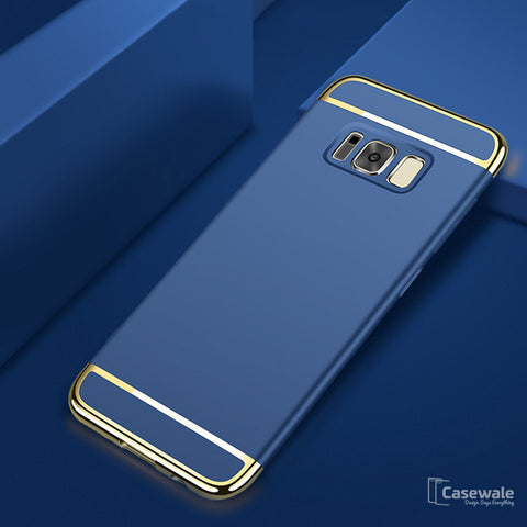 Galaxy s8, S8 Plus Ultra Thin Electroplated Gold Plating Case