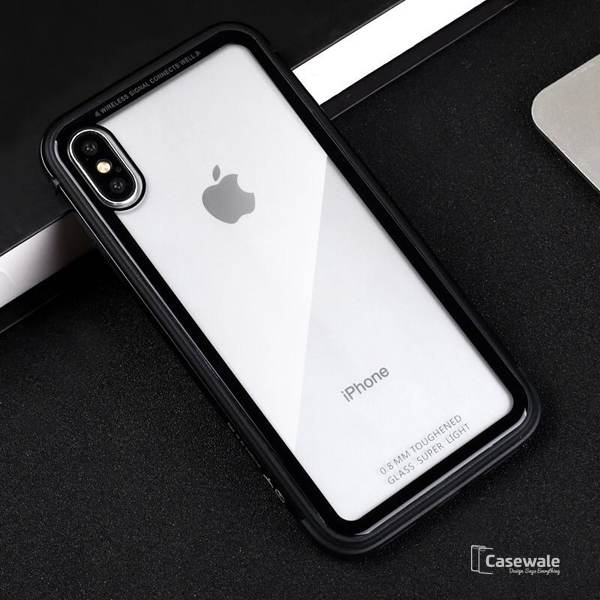 Luxury Metal Soft Border Phone Case for iPhone X