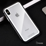 Luxury Metal Soft Border Case for iPhone XS