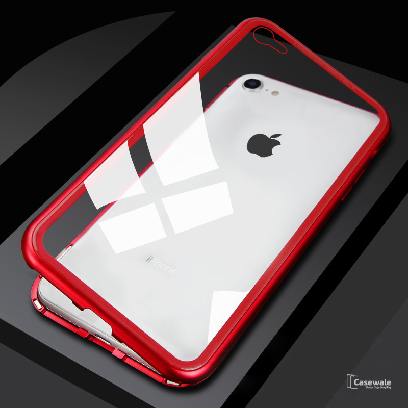 quality design d8fc7 dbd7f Electronic Auto-Fit Magnetic Glass Case iPhone 6 / 6S