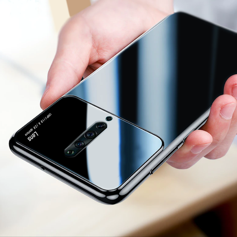 Luxury Smooth Ultra Thin Mirror Effect Case for Oppo Reno 2Z
