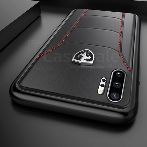 Ferrari ® Leather Crafted Limited Edition Case for Galaxy Note 10 Series