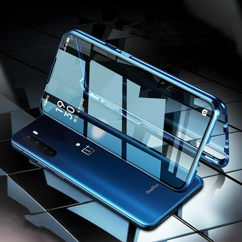 Double Sided Magnetic Glass Case for OnePlus Nord