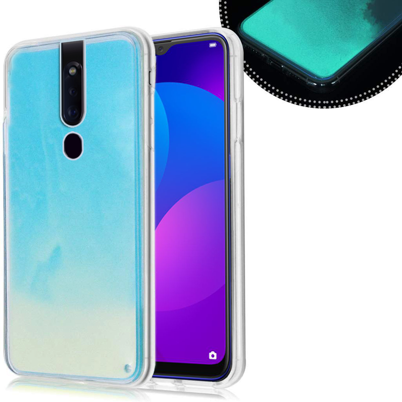 Neon Sand Liquid Glow Case for Oppo F11 / F11 Pro