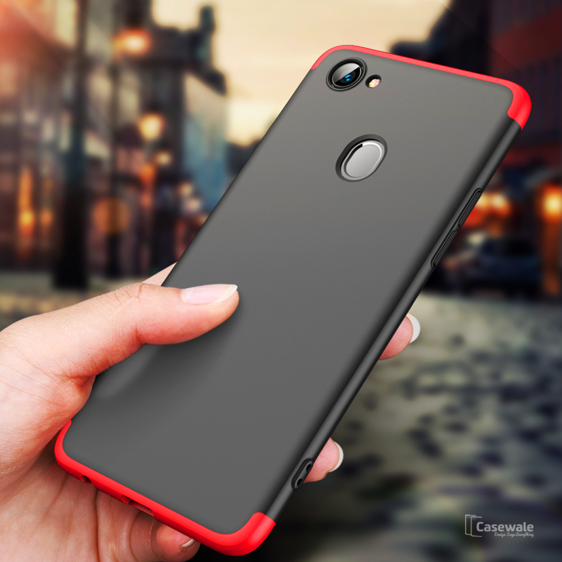newest collection ffec0 b1016 360 Degree Protection Case for Oppo F7 [100% Original GKK]