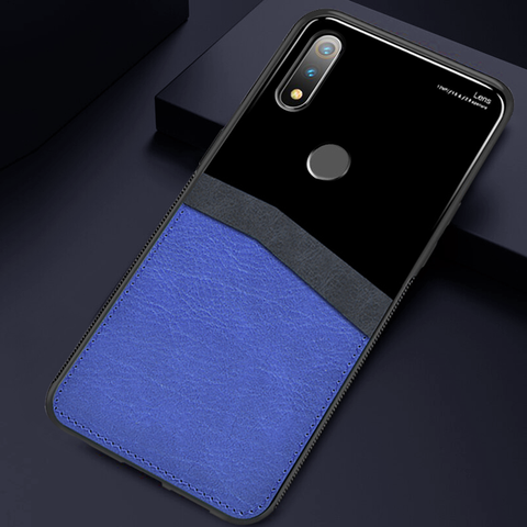 Leather Lens Luxury Card Holder Case For Realme 3 Pro