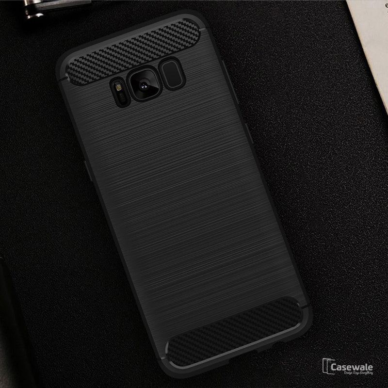 huge selection of 64406 90699 Samsung Galaxy S8, S8 Plus Carbon Fiber Back Cover