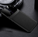 Leather Lens Luxury Card Holder Case For Oppo F11 Pro