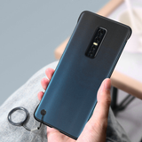 Luxury Frameless Semi Transparent Ring Finger Case for VIVO V17 PRO