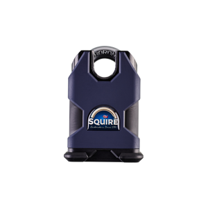 SQUIRE 50MM CLOSED SHACKLE SOLID STEEL BODY CEN4