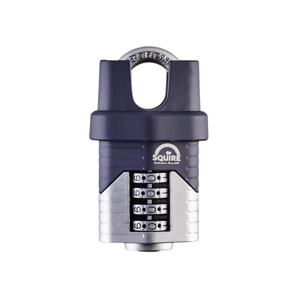 SQUIRE VULCAN 40MM RECODABLE COMBINATION CLOSED BORON SHACKLE