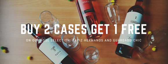 Buy 2 cases of Rose and get 1 for free!